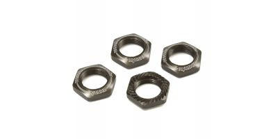 Wheel Nut (Gunmetal/4pcs/for Serration) IFW472GM