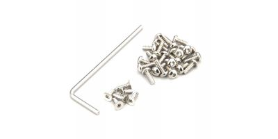 Butten HEX Screw Set(MINI-Z AWD/Nickel) MDW020