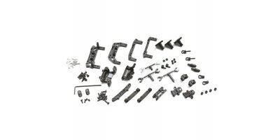 R/C EP TOURING CAR MINI-Z AWD REAR DOUBLE WISHBONE SUSPENSION SET (for MA-010) MDW100