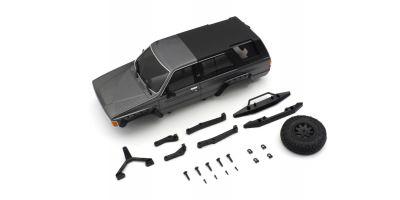 MX-01 トヨタ 4ランナー  ボディセット ダークグレーメタリック MXB02GM