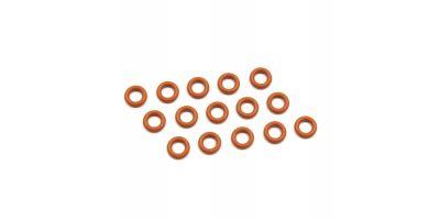 シリコンOリング(P4.5/オレンジ)15入(96521)  ORG045