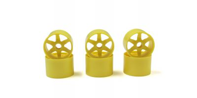 Front Wheel (Yellow/6pcs) PZ301-6Y