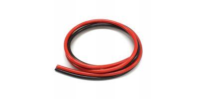 12G Silicon Wire 600 Black / Red R246-8511