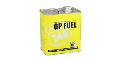 GPフュール カー用 2L缶 ニトロ25% オイル12%  R246-8603