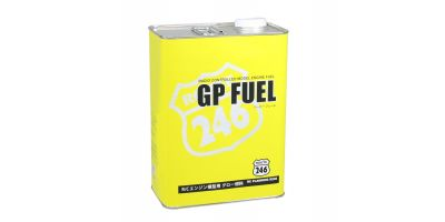 GPフュール カー用 4L缶 ニトロ16% オイル12%  R246-8611