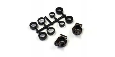 V2 Aluminum Rear Hub Set(0゚/RB6/ZX/RT/SC UMW704-0