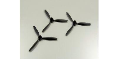 3 Blade Propeller & Spinner(D112xP112) A0471-06