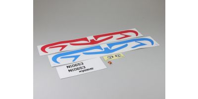 Decal (Red/Blue FLYBABY) A0653-03