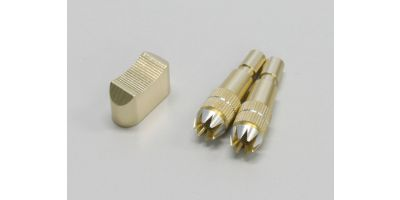 Aluminum Stick & Switch cap set (Gold) A0751FS-01G