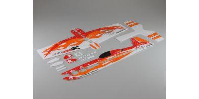 印刷済み機体セット(エクストラ330SC)  A0771-20