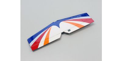 尾翼セット (ブルー/カルマートST GP 1400)  A1062BL-13