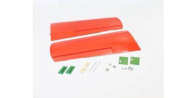 Main wing set (Macchi M33 EP/GP30 Red) A1081-11R