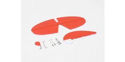 尾翼セット( マッキM33 EP/GP30 レッド) A1081-13R