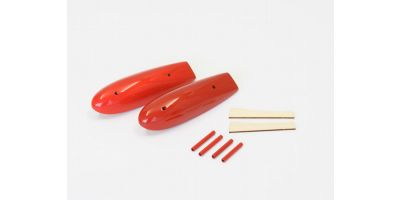 Wing Tip FloatSet(MacchiM33 EP/GP30 Red) A1081-28R