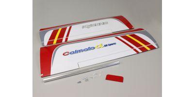 主翼セット(カルマートアルファ60スポーツ レッド) A1236-11R
