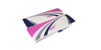 主翼セット(カルマートアルファ40トレーナー・スポーツパープル)  A1257-11P