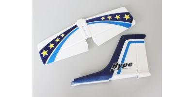 垂直水平尾翼セット ブルー(U CAN FLY)  A6551-13BL