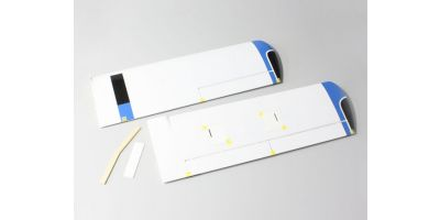Main Wing Set Blue (AERO SUBARU 50) A6564-11BL