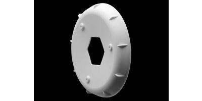 ホイールステフナー EVOホイル用 ホワイト (4pcs)  AKA34003W