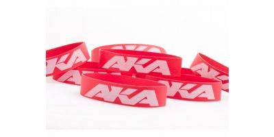 AKA TIRE MOUNTING BANDS 1:8/1:10(8PCS) AKA44002