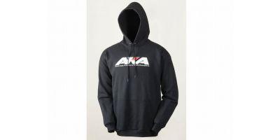 BLACK HOODY SWEATSHIRT (M) AKA98104M
