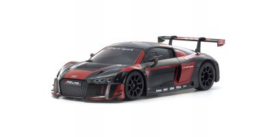 ASC MR03RWD Audi R8 LMS 2016 Black/Red MZP234BKR