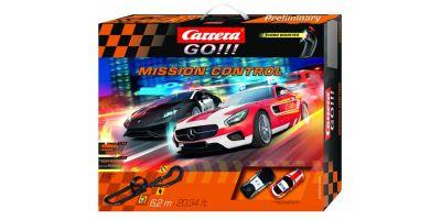 1/43 スロットカー カレラGO!!!  ミッション コントロール 20062465