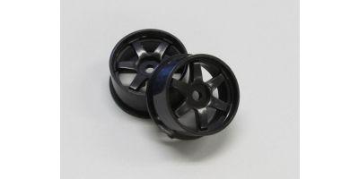 Wheel Set (17/Front,Rear/Black/2Pcs/dNaN DNH001BK-17