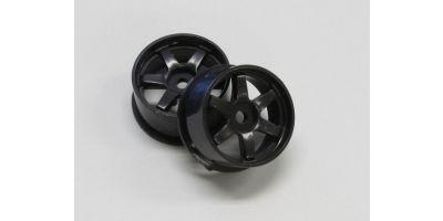 Wheel Set (18/Rear/Black/2Pcs/dNaNo) DNH001BK-18R