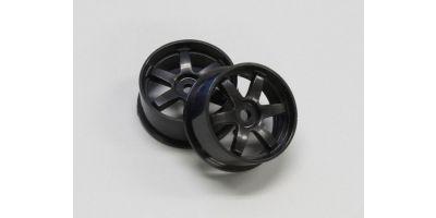 Wheel Set (19/Rear/Black/2Pcs/dNaNo) DNH001BK-19R