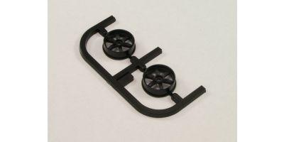Wheel Set(20/Front/Black/2Pcs/dNaNo)     DNH001BK-20F