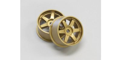 Wheel Set (18/Rear/Gold/2Pcs/dNaNo) DNH001G-18R
