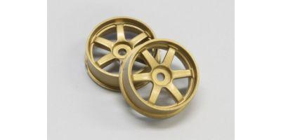 Wheel Set (19/Front/Gold/2Pcs/dNaNo) DNH001G-19F