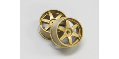 Wheel Set (19/Rear/Gold/2Pcs/dNaNo) DNH001G-19R