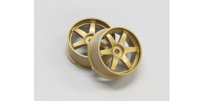 Wheel Set(20/Front/Gold/2Pcs/dNaNo)      DNH001G-20F