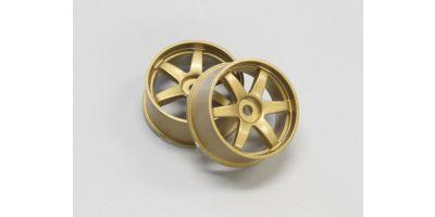 Wheel Set (20/Rear/Gold/2Pcs/dNaNo) DNH001G-20R