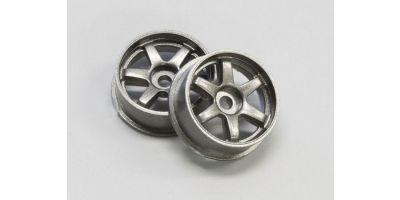 Wheel Set (17/Front,Rear/Gunmetal/2Pcs/d DNH001GM-17