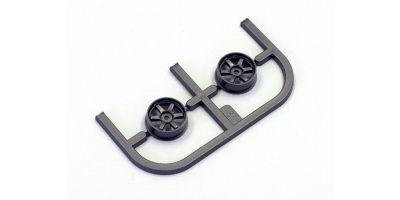 Wheel Set (18/Front/Gunmetal/2Pcs/dNaNo) DNH001GM-18F