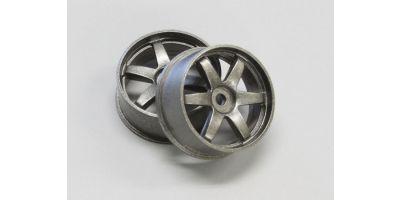 Wheel Set (18/Rear/Gunmetal/2Pcs/dNaNo) DNH001GM-18R