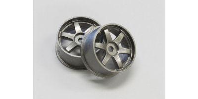 Wheel Set (19/Front/Gunmetal/2Pcs/dNaNo) DNH001GM-19F