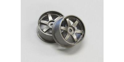 Wheel Set (19/Rear/Gunmetal/2Pcs/dNaNo) DNH001GM-19R