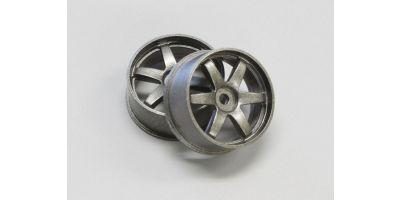 Wheel Set (20/Rear/Gunmetal/2Pcs/dNaNo) DNH001GM-20R