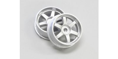 Wheel Set (18/Front/Silver/2Pcs/dNaNo) DNH001S-18F