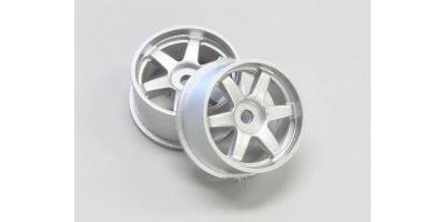 Wheel Set (18/Rear/Silver/2Pcs/dNaNo) DNH001S-18R