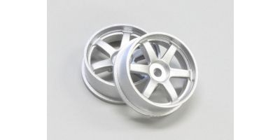 Wheel Set (19/Front/Silver/2Pcs/dNaNo) DNH001S-19F