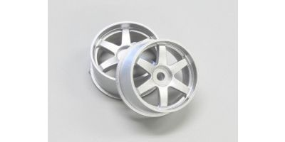 Wheel Set (19/Rear/Silver/2Pcs/dNaNo) DNH001S-19R