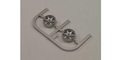 Wheel Set(20/Front/Silver/2Pcs/dNaNo)    DNH001S-20F