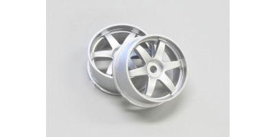 Wheel Set (20/Rear/Silver/2Pcs/dNaNo) DNH001S-20R