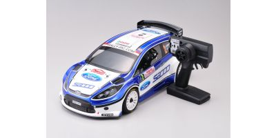 1/9 GP 4WD RCラリーカー DRXシリーズ FORD FIESTA レディセット  31050J