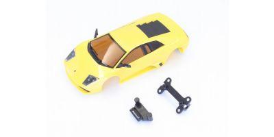 Dslot43 完成ボディセット Lamborghini Murcielago p.yellow  DSP2020106